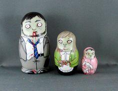 Zombie nesting dolls. Want!