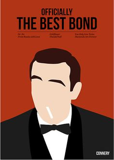 Officially the best bond - Connery! by Stephen Wildish Repin if Sean Connery is your fav!  #ConneryDay