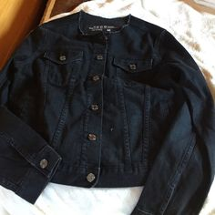 Brand new Jean jacket Different in style. Fits like medium adult GAP Jackets & Coats Jean Jackets