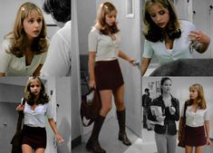buffy summers appreciation week day two ♡ favorite outfitI had to go with Welcome to the Hellmouth. It sets the mood for what's to come and at the same time is so quintessentially Buffy. The miniskirt/boots combo the trendy jewelry that sweet Fashion Tv, 2000s Fashion, Look Fashion, Fashion Outfits, 1999 Fashion, 90210 Fashion, 1990 Style, 90s Inspired Outfits, Buffy Summers