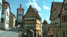 GERMANY Rothenburg ob der Tauber, Bavaria (HD-video)
