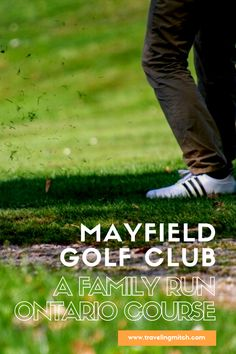 Mayfield Golf Club in Caledon East, Ontario has been around for 40 plus years and has a unique family history and legacy for this province. Ontario golfers should come check out this less than pretentious golf course outside Toronto. Travel Advice, Travel Guides, Travel Tips, Travel Destinations, Travel Stuff, Travel Abroad, Toronto Canada, Alberta Canada, Ontario Travel