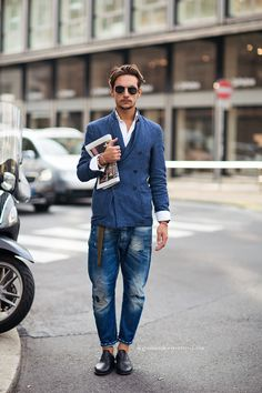 we all need a go-to jacket or everyday pants/jeans