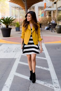 stripes, greylin, collection, dress, moto jacket, spring, chic, outfit ideas, affordable finds, what is fashion, sazan, barzani, blogger, fashion, cute style, bcbg, la mae, boutique, hair, makeup, inspiration, hair trends 2014, fashion trends, trends, my style
