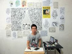 Interview with Kerby Rosanes: Sketchy Stories Behind His Doodles on http://naldzgraphics.net