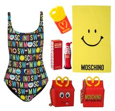 """""""happy meal"""" by jjbear ❤ liked on Polyvore featuring Moschino"""