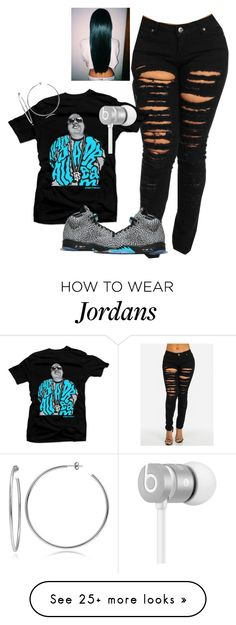 """Biggie"" by mindless-loyalty on Polyvore featuring Retrò, Beats by Dr. Dre and Lord & Taylor"