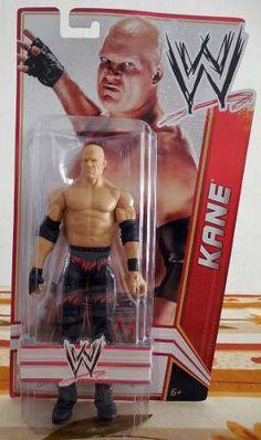 WWE Kane Figura de Acción Básica Figura de acción articulada De Mattel /WWE Basic Action Figures Serie 15.