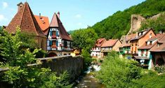 is a commune in the Haut-Rhin department in Alsace in north-eastern France. The inhabitants are called Kaysersbergeois. The name means Emperor's Mountain in German. Beautiful Places In The World, Wonderful Places, Monuments, Yosemite National Park, National Parks, Week End Alsace, Central Park Manhattan, Honeymoon Places, Tour Eiffel
