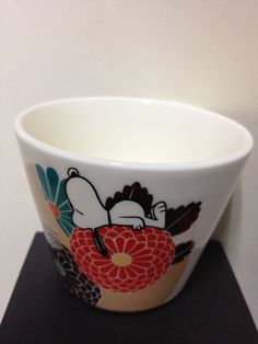 美濃焼 フリーカップ China cup #snoopy