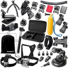 10.The Best Accessories Kit for GoPro Hero 4 Reviews