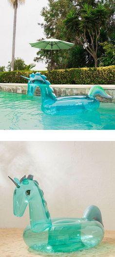 Glitter Unicorn Pool Float -