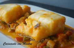 Cocinando con Montse: Bacalao con pisto