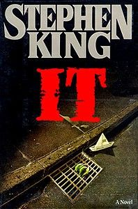IT - Stephen King (This book totally scared the bejesus out of me when I was 12. It was shock to see Pennywise show up in the Dark Tower series too! #nightmares)