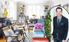 Max Humphrey of Burnham Design Shows Us His Southern California Contemporary-Glam Home