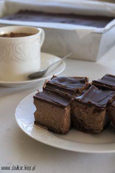 Sernik czekoladowo - piernikowy