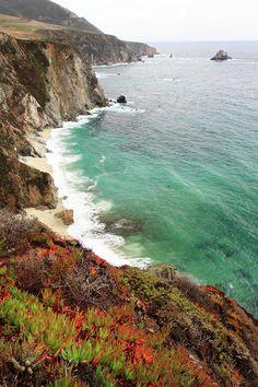 ✮ Big Sur Colorful Coastline - Great Shot!