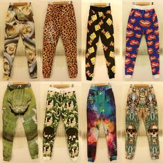New Fashion style men jogger pants Animal snake/Leopard grain/Simpson/red lips printed/Galaxy 3 D printing joggers sweatpants