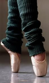 gotta love the classic pointe and leg warmer pic