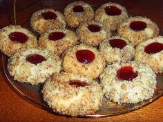 Песочное печенье с вареньем