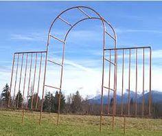Image result for copper garden gate
