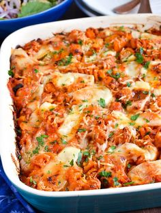 Syn Free Roasted Butternut Squash Zucchini Pasta Bake Slimming Eats Slimming World Recipes, Creamy One Pot Primavera Pasta with Peas, Zucc. Veggie Recipes, Pasta Recipes, Vegetarian Recipes, Cooking Recipes, Healthy Recipes, Dinner Recipes, Healthy Meals, Green Vegetarian, Pasta Meals