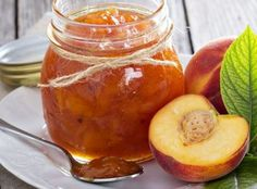 Peach vanilla jam combines two of nature's most beautiful flavors - ripe, juicy summer peaches and floral, aromatic vanilla. This low sugar jam recipe lets the fresh fruit flavor shine through. Low Sugar Recipes, No Sugar Foods, Jam Recipes, Sweet Recipes, Peach Vanilla Jam, Peach Jam, Canned Peaches, Food Crush, The Fresh