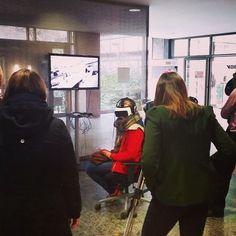 An awesome Virtual Reality pic! #virtualreality im #personalmarketing #deutschebahn #premiere @ #backstage #db #karrieretag #ice #werk #real #life #experiences #jobs #elektriker #gleisbauer #fahrdienstleiter #zeiss #vrone #vr #future #today #faz hat schon und #sz wird berichten ;-) - 1000 Dank ans beste und innovativste Recruiting-Team der Welt - HM-Süd ;-) - we did it - so #proud of you! #career #employerbranding #staffing #recruiting #talentacquisition by flowurzer check us out…
