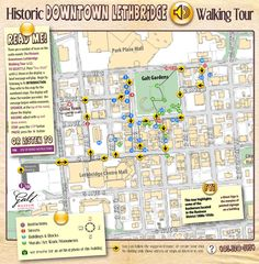 Galt Museum & Archives Programs: Tour Podcasts - historic lethbridge downtown walking tour with free maps and podcasts