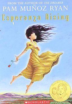 Esperanza Rising by Pam Munoz Ryan. Esperanza Rising received numerous awards, including the Pura Belpre award. Esperanza Rising, Read Aloud Books, Good Books, Historical Fiction Books, Chapter Books, Book Girl, Childrens Books, The Book, Free