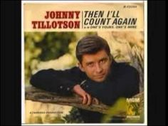 Johnny Tillotson - One's yours, one's mine