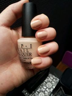 OPI Samoan Sand, they discontinued this color. So I bought a whole carton of it.