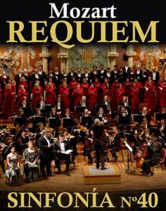 Réquiem y Sinfonía Nº40 de Mozart