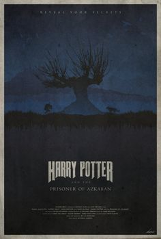 Harry Potter and the Prisoner of Azkaban Poster - Edward J. Moran II