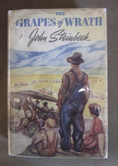 THE GRAPES OF WRATH BY JOHN STEINBECK (1939) Despite the book being championed by the literary elite, it was publicly banned in the US and burned en masse by the general population. People were shocked by its description of the poor, which Steinbeck later admitted was a sanitized version of what was really going on in these remote communities.