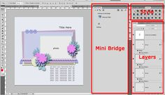Angelclaud ArtRoom has a great easy to follow template Tutorial for beginning scrappers. Check it out!  Beginner Template Tutorial with Photoshop CS5; http://angelclaudartroom.com/beginner-template-tutorial-with-photoshop-cs5/. 07/07/2013