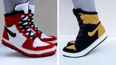 Richard Riley, based in the Washington D.C. area, created Fuggit crochet sneakers, a project which took one step further in this game and started creating u