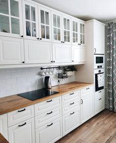 Best Indoor Garden Ideas for 2020 - Modern Kitchen Room Design, Diy Kitchen Decor, Interior Design Kitchen, Kitchen Furniture, Bungalow Kitchen, New Kitchen, Home Kitchens, Kitchen Remodel, Bodbyn