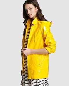 Chubasquero de mujer Easy Wear amarillo con capucha · Easy Wear · Moda · El Corte Inglés yellow pvc raincoat