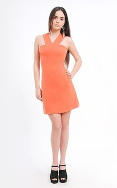 Orange Dress by Ecoology