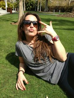 Malú, la cantante con más rollo Malu, Angelina Jolie, Sunglasses Women, Celebrities, Fashion, Celebs, Style, Horns, Funny Things
