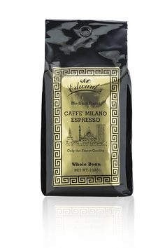 Caffe' Milano Italian Espresso Coffee Beans Medium Roast - 5 Pounds >>> Check this awesome image @ : Fresh Groceries