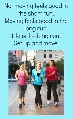 Exercise Encouragement – Get Up and Move!  #Exercise #MoveYourBody