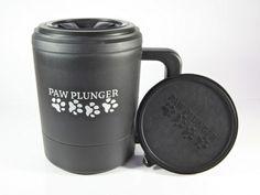 PawPlunger  PORTABLE DOG PAW WASHER