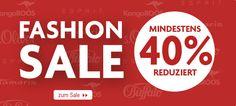 Viele Produkte mindestens 40% reduizert mit dem #Fashion #Sale