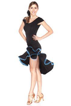 """""""Dancing Queen"""" Latin Dance Dress"""