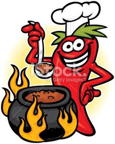 Annual Dillon Roadhouse Chili-Cook Off Cooking Clipart, Chile Picante, Chili Party, Chili Cook Off, Chili Soup, Best Fruits, Patch Quilt, Food Humor, Painted Rocks