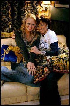 Miranda Lambert and mom