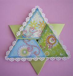 Springy Star Card closed