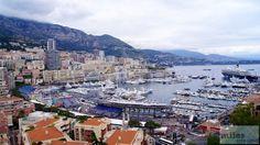 Blick auf den Hafen - Check more at https://www.miles-around.de/europa/monaco/abbau-der-formel-1-strecke-in-monaco/,  #Côted'Azur #Formel1 #Frankreich #Monaco #Reisebericht #Yacht